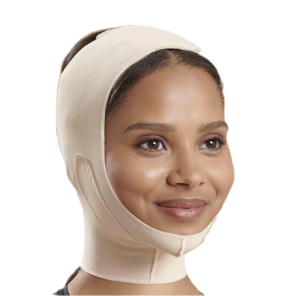 Unisex Medium Coverage Face Mask Mid-Neck Support FM300-B