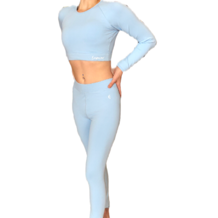 Empower By Dr Anh - Blue Two Piece Sport Set