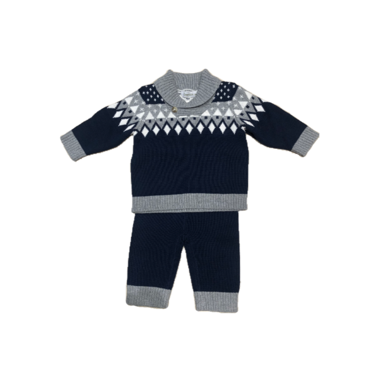 Beanstork Navy Alpine Set