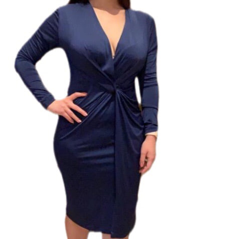 Empower By Dr Anh - Navy Empower Dress