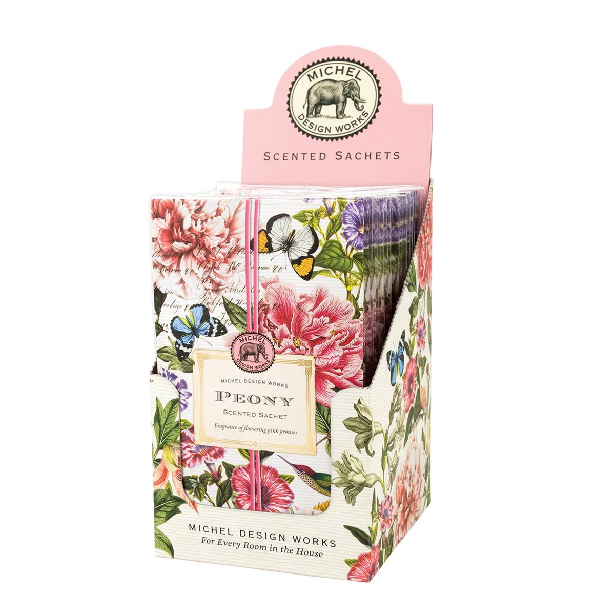 Michel Peony Scented Sachets