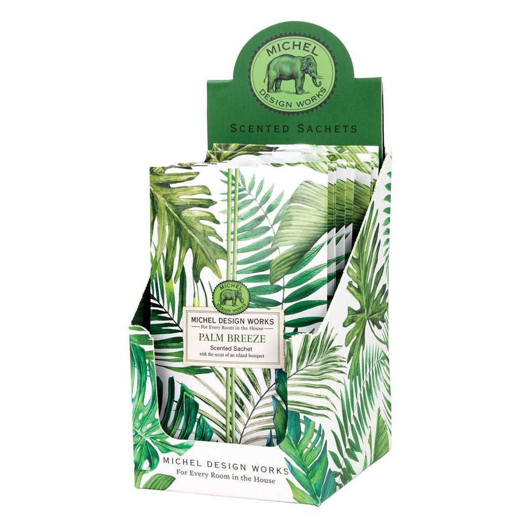 Michel Palm Breeze Scented Sachets