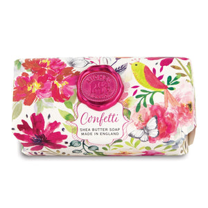 Michel Confetti Large Bar Soap