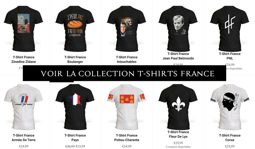 Collection T-Shirts France