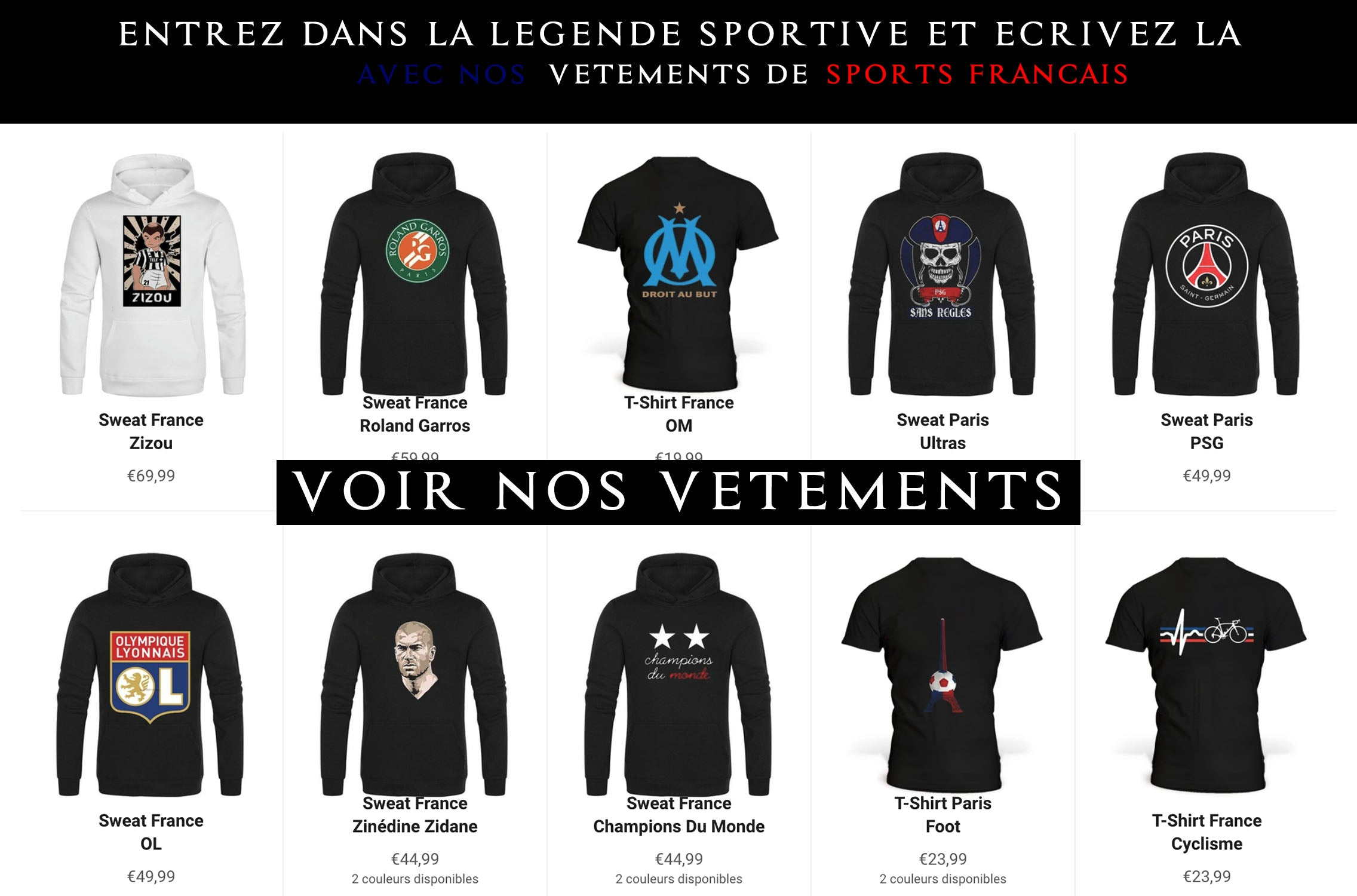 vêtements-sports