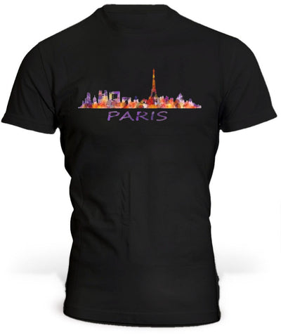 T-Shirt Skyline Noir
