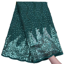 Load image into Gallery viewer, Sequins Fabric 17984-Emeraldgreen