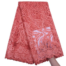 Load image into Gallery viewer, Sequins on Tulle Lace Fabric 18162-Light Coral