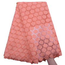 Load image into Gallery viewer, Circle Pattern Guipure Lace 18303-Light Salmon