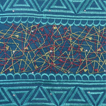 Load image into Gallery viewer, Dark Turquoise Embroidery Swiss Lace 21733