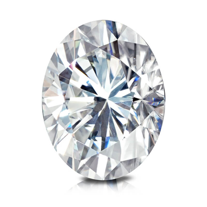 Loose Oval Moissanite Gems