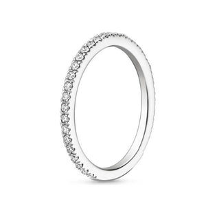 Wedding Ring For Women - Luxury Diamond, White Gold Ring