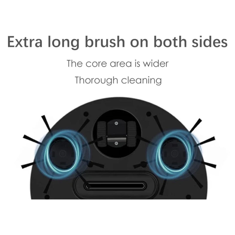 Smart 3 in 1 Sweeping Cleaning Robot with Fast Charging