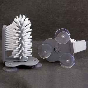 CLEAN YOUR CUP QUICKLY SUCTION CUPS CLEANER BRUSH