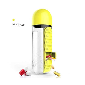 2 in 1 Pill Box Outdoor Water BottleLIMITED TIME 300 ITEMS