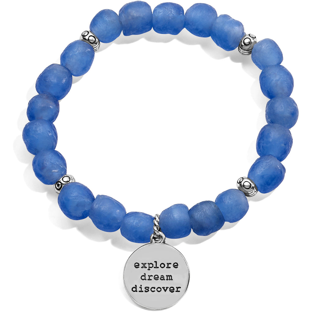 Sea Shore Compass Stretch Bracelet - Jenna Jane's Jewelry