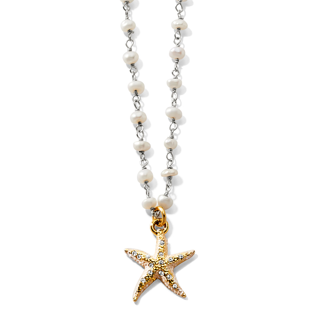 Sea Shore Petite Starfish Necklace - Jenna Jane's Jewelry