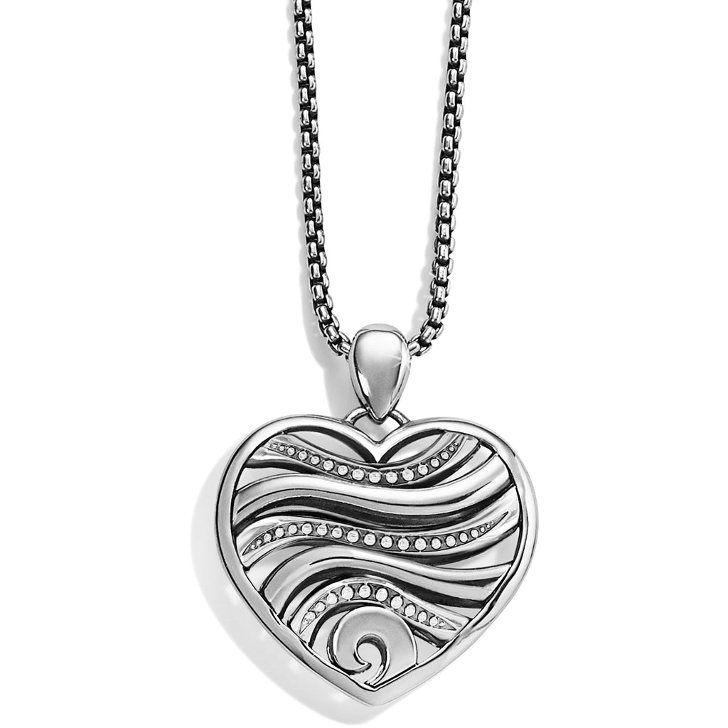 Oceanus Heart Necklace - Jenna Jane's Jewelry