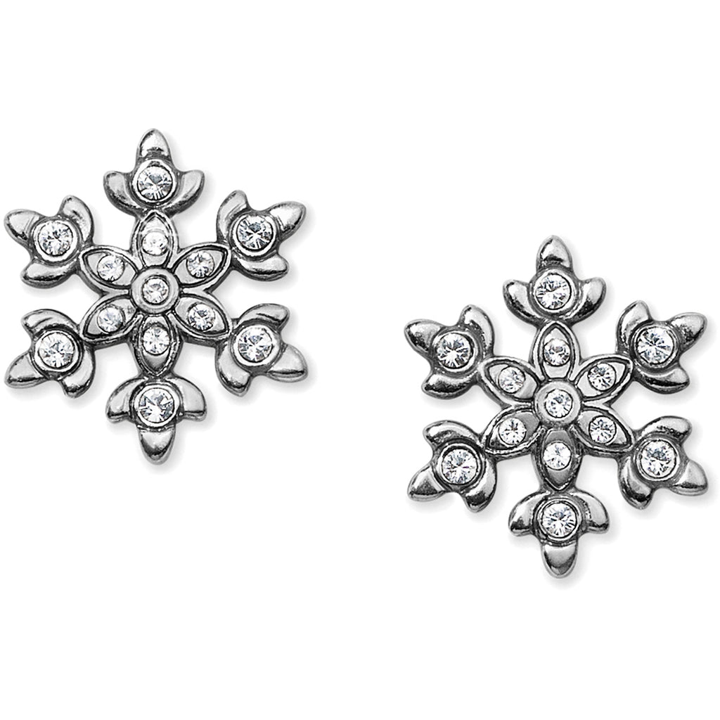 Snowflake Dazzle Mini Post Earrings