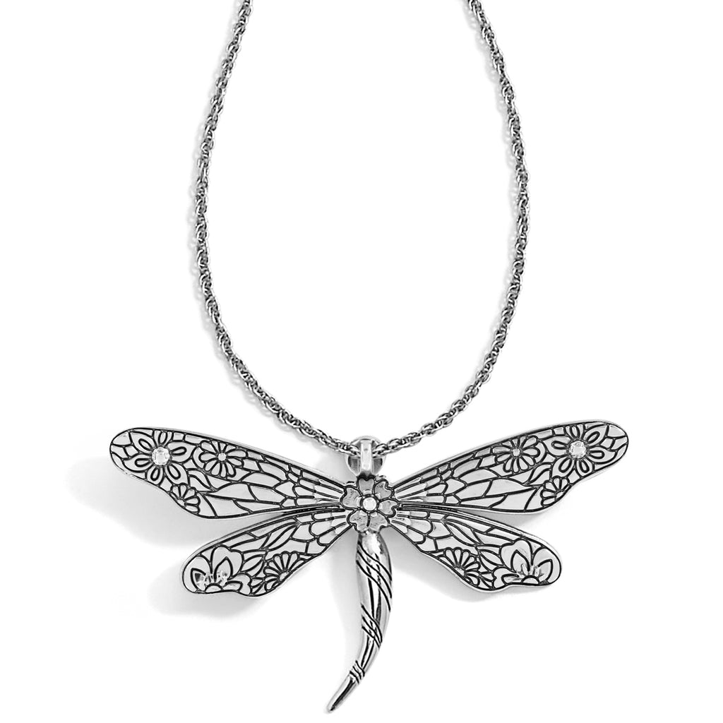Enchanted Garden Dragonfly Necklace