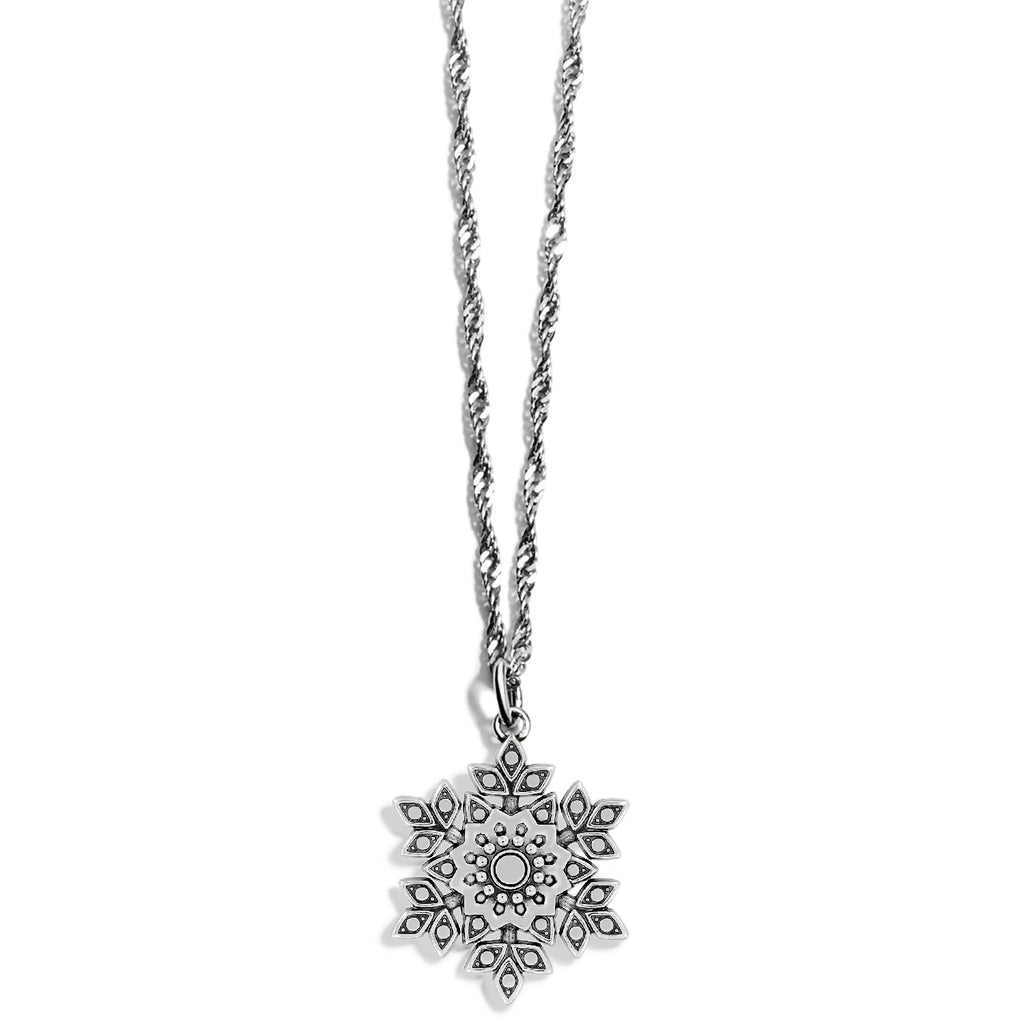 Glint Snowflake Necklace