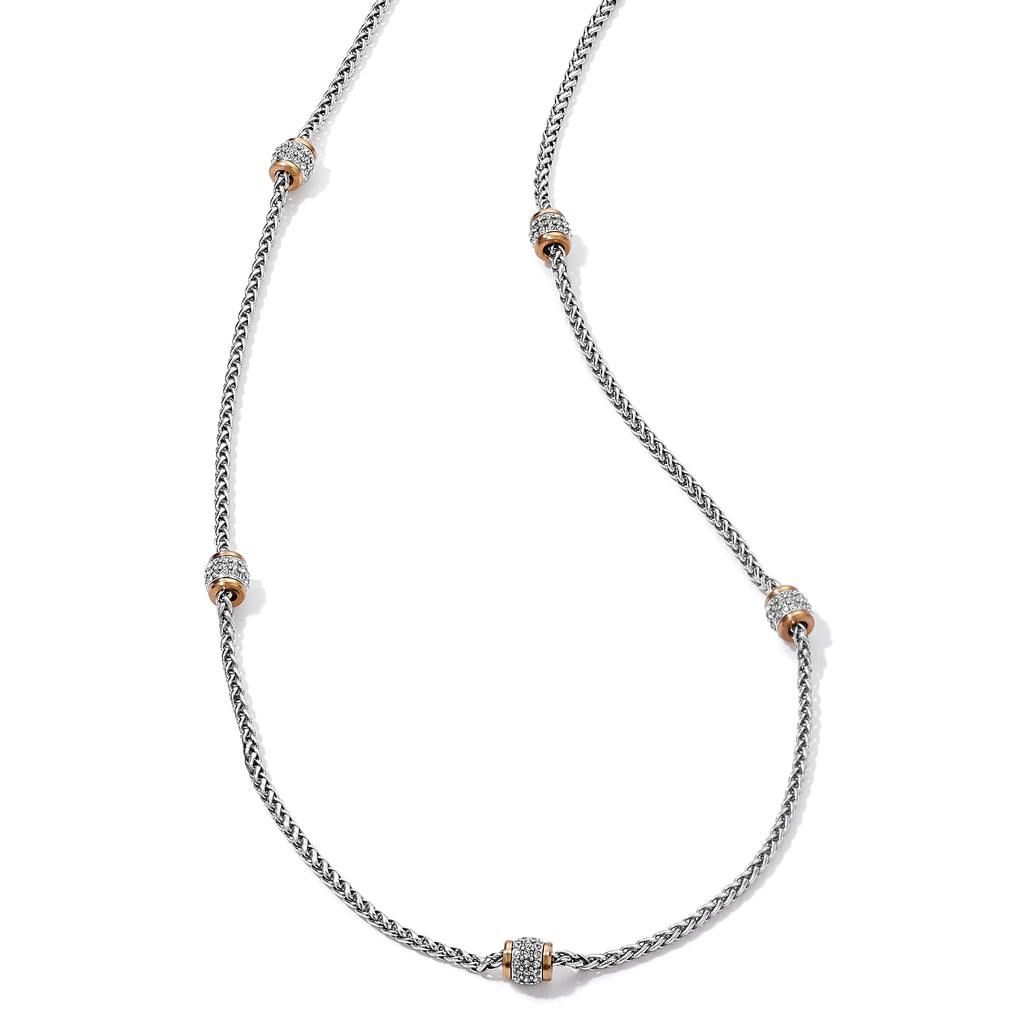 Meridian Two Tone Long Necklace