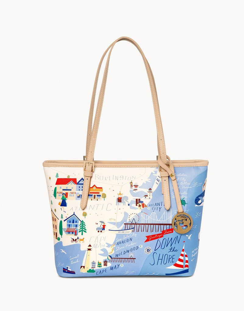 Down the Shore Small Tote - Jenna Jane's Jewelry