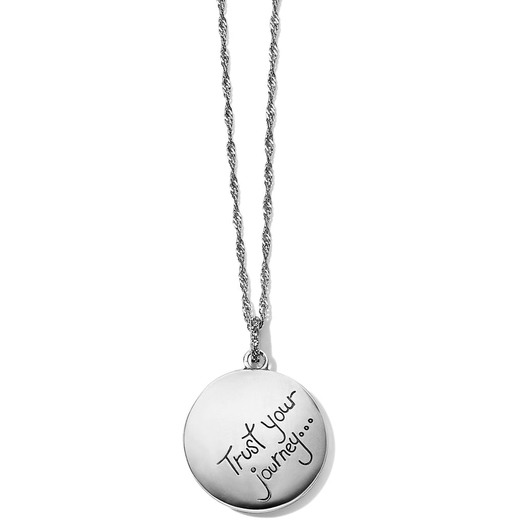 Trust Your Journey Wave Pendant Necklace - Jenna Jane's Jewelry