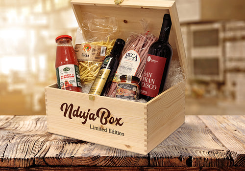 NdujaBox Limited Edition - Genuine Calabrian flavours