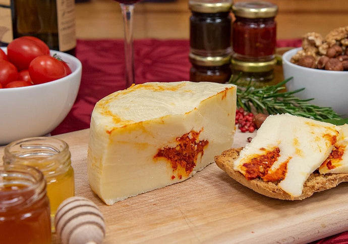 Pecorino Cheese with Nduja