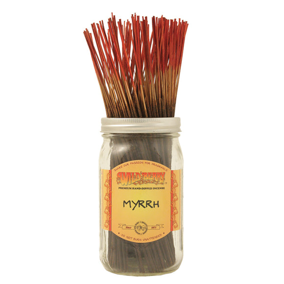 Myrrh - 10 pack Wildberry Incense Sticks