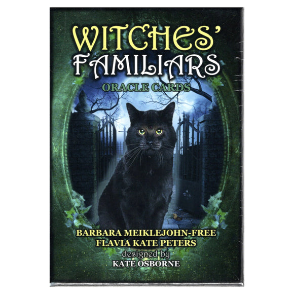 Witches' Familiars Oracle - Barbara Meiklejohn-Free