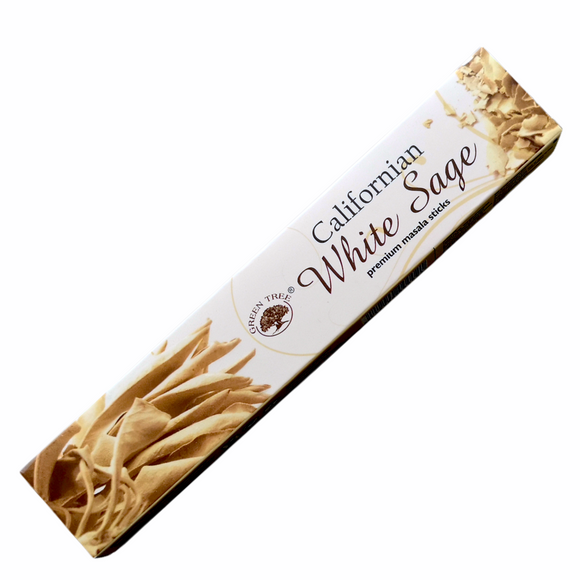 Green Tree White Sage Incense Sticks 15g
