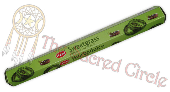 Hem Sweetgrass Incense Sticks 20g