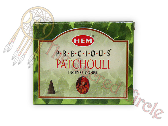 Hem Patchouli Incense Cones