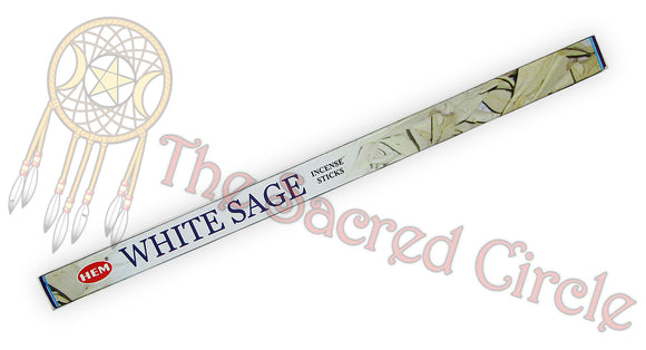 Hem White Sage Incense Sticks 8g