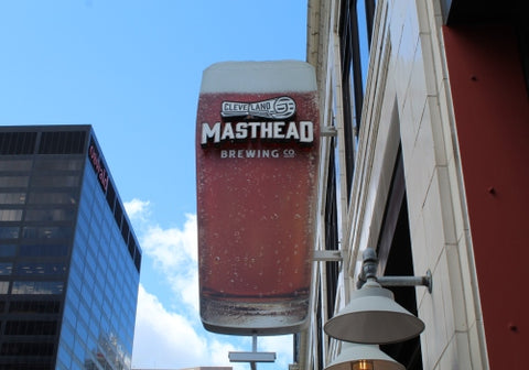 Masthead Brewing Co. - Downtown Cleveland - RivalryBrews.com
