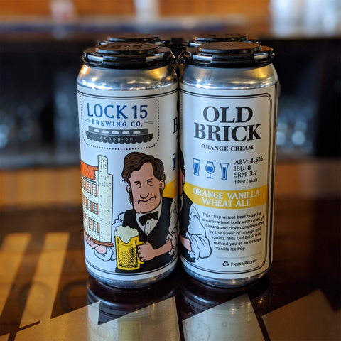 Old Brick Orange Cream - Rivalry Brews