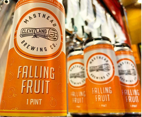 Masthead Falling Fruit - Rivalry Brews