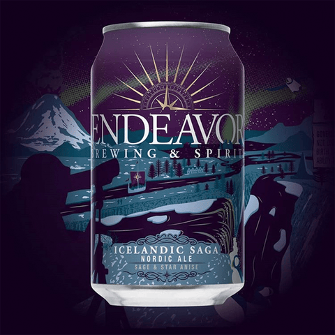 Icelandic Saga Nordic Ale - Rivalry Brews