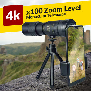 300x40mm Telescope Monocular Phone Attachment