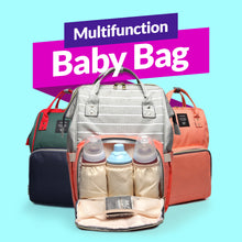 Load image into Gallery viewer, Multi-Functional Baby Bag