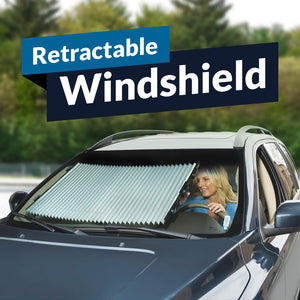 Retractable Windshield Cover