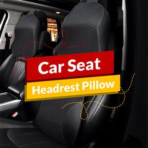Car Seat Headrest Pillow