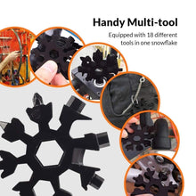 Load image into Gallery viewer, 18-in-1 Snowflake Multi Tool - 【70% OFF BLACK FRIDAY SALE】