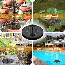 Load image into Gallery viewer, Solar Flow - Solar Powered Bird Bath Fountain