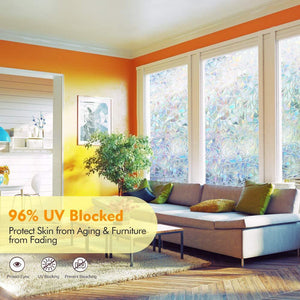 3D Rainbow Window Film - Summer Sale- 50% OFF
