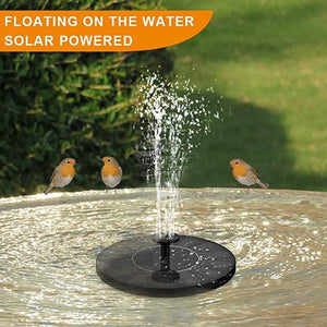 Solar Flow - Solar Powered Bird Bath Fountain