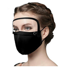 Load image into Gallery viewer, Cotton Mask with Eye Shield