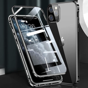 Two-Side Tempered Glass Magnetic Phone Case (50% Pre-Holiday Sale)